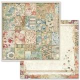 Stamperia - Double-Sided Cardstock 12x12 - Oriental Garden - Kimono (SBB633)