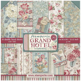 "Stamperia - Double-Sided Paper Pad 12""X12"" 10/Pkg - Grand Hotel (SBBL57)"