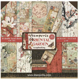 "Stamperia - Double-Sided Paper Pad 12""X12"" 10/Pkg- Oriental Garden (SBBL58)"