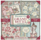 "Stamperia - Double-Sided Paper Pad 12""X12"" 22/Pkg - Grand Hotel (SBBXL03)"