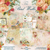 Blue Fern Studios - 20 Dbl Sided Papers - Bird Waltz Collection (BF BRDWLTZ 20SHEETS)