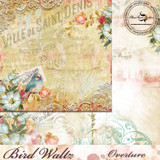 Blue Fern Studios - Bird Waltz - 12x12 dbl sided paper - Overture (690578)