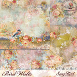 Blue Fern Studios - Bird Waltz - 12x12 dbl sided paper - Song Bird (688070)