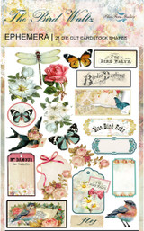 Blue Fern Studios - Bird Waltz - Die cuts - 21/pc - Ephemera (691179)