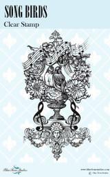 Blue Fern Studios - Bird Waltz Collection Clear Stamp - Song Birds (691674)
