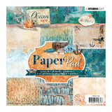 Studio Light - Paper Collection 6x6 - Collection 1 - Ocean View (PPOV118)