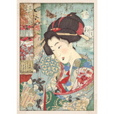 Stamperia - Decoupage Rice Paper A4 - Oriental Garden Collection - Geisha (DFSA4392)