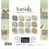 Couture Creations - 6x6 Paper Pad 24/Pkg - Seaside And Me (CO726151)