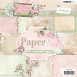 Studio Light - Paper Collection 6x6 - Collection 1 - Lovely Moments (PPLM123)