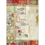 Stamperia - Decoupage Rice Paper A3- Make A Wish - Writings (DFSA3044)
