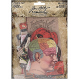 Tim Holtz - Idea-Ology - Ephemera Pack 82/Pkg - Halloween (TH93963)