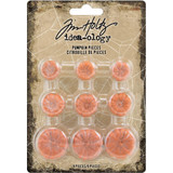 Tim Holtz - Idea-Ology - Pumpkin Pieces 9/Pkg (TH93970)