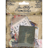 Tim Holtz - Idea-Ology - Ephemera Snippets Tiny Die-Cuts 124/Pkg - Halloween 2019 (TH93983)
