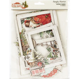 Simple Stories - Layered Chipboard Frames 6/Pkg - Country Christmas (COC11324)