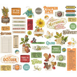 Simple Stories - Bits & Pieces Die-Cuts 48/Pkg - Autumn Splendor (UTS11220)