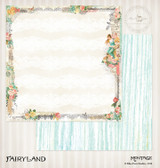 Blue Fern Studios - 2x12 dbl sided paper - Montage - Fairyland (4544365)