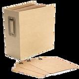 Graphic 45 - Square Tag and Pocket Album 5.5x5.5 - Kraft (4501286) (