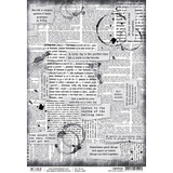 Ciao Bella - Decoupage Rice Paper Sheet - Loving In The Rain Collection - Our Love Words (CBRP008)