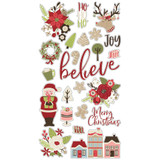Simple Stories - Chipboard Stickers 6x12 - Holly Jolly (HOJ11419)