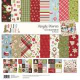 Simple Stories - 12x12 Paper Collection - Holly Jolly (HOJ11400)