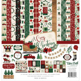 Echo Park - Double Sided Cardstock Collection Pack 12x12 - A Cozy Christmas (AC189014)