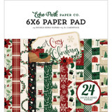 Echo Park - Double Sided Cardstock Paper Pad 6x6 - A Cozy Christmas (AC189023)