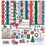 Carta Bella - Double Sided Cardstock Collection Pack 12x12 - Merry Christmas (CBMC107016TM)