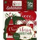 Echo Park - Ephemera Die-Cuts 33/Pkg - Here Comes Santa Claus (HC188024)