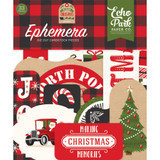 Echo Park - Ephemera Die-Cuts 33/Pkg - My Favorite Christmas (MF190024)