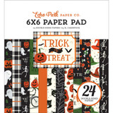Carta Bella - Double-Sided Cardstock Paper Pack 6x6 24/Pkg - Trick Or Treat (TT186023)