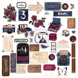 Prima Marketing - Darcelle - Cardstock Ephemera 39/Pkg (642020)