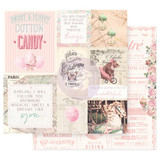 Prima Frank Garcia - Double sided 12x12 Paper w/Foil Accents - Dulce - Some Kind Of Wonderful