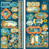 Graphic 45 - Stickers 2/Pkg 6x12 - Dreamland (G4501934)