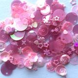 Spiegel Mom Scraps - Sequins - Pink Poison (SMS - PPoison)