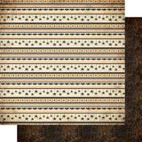 Authentique - Double-Sided Cardstock 12x12 - Twilight - #2 Black & Orange Webs (TWI12 - 02)