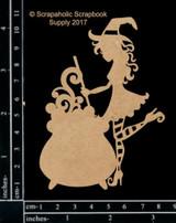 Scrapaholics - Laser Cut Chipboard - Cute Witch 2 (S49323)