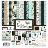 Carta Bella - Collection Kit 12x12 - Home Again (HO109016)