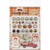 Carta Bella - Decorative Brads & Chipboard - Fall Break (FA88020)