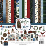 Echo Park - Double Sided Cardstock Collection Pack 12x12 - Warm & Cozy (WC194016)