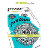 Carabelle Studio - Cling Stamp - Indian Inspired #3 (SA60453)