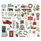 Simple Stories - Ephemera 54/Pkg - Winter Farmhouse - Bits and Pieces (WTR11620)