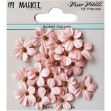 49 and Market - Flowers Pixie Petals 18/Pkg - Ballet Slipper (49PP 89159)