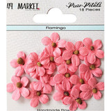 49 and Market - Flowers Pixie Petals 18/Pkg - Flamingo (49PP 89166)