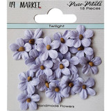 49 and Market - Flowers Pixie Petals 18/Pkg - Twilight (49PP 89142)