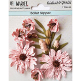 49 and Market - Flowers Enchanted Petals 7/Pkg - Ballet Slipper (49EP 89074)