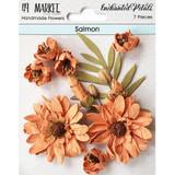 49 and Market - Flowers Enchanted Petals 7/Pkg - Salmon (49EP 89050)