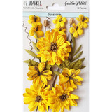 49 and Market - Flowers Garden Petals 12/Pkg - Sunshine (49GP 88947)