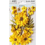 49 and Market - Flowers Garden Petals 12/Pkg - Sunshine (49GP 88947)