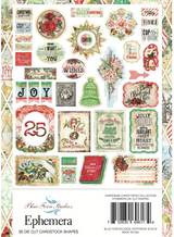 Blue Fern Studios - Ephemera 36/Pkg- Christmas Cheer (696174)