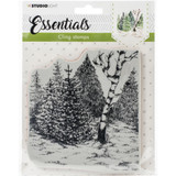 Studio Light - Essentials Stamp - NR. 14 - Wintry Tree Scene (LINGSL14)